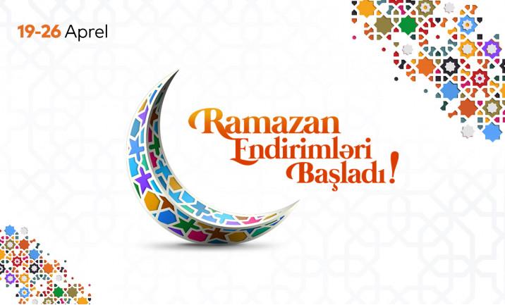 Music Gallery-də Ramazan Endirimləri başladı!