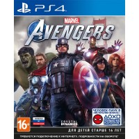 Мстители Marvel (PS4) (rus ver)