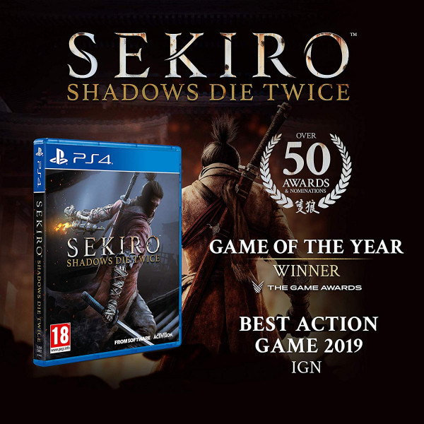 Sony PS4 Game (Sekiro: Shadows Die Twice)