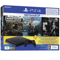 PS4 1TB + 3 Games + PS Plus (PS719350002)