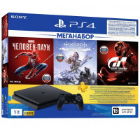 PS4 1TB + 3 Games + PS Plus (PS719391302)