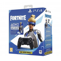 DualShock4 Black + Fortnite Voucher