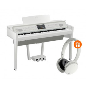 Yamaha CVP-809PWH With Bench