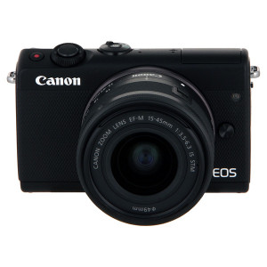 Canon EOS M100 15-45mm IS STM Kit Black