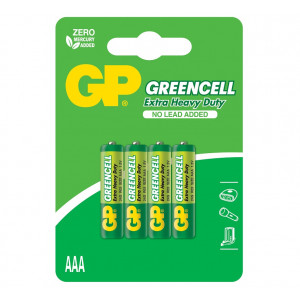 GP Greencell 1.5V (R03) 24G-U4