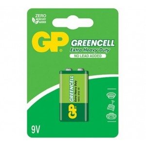 GP Greencell 9.0V (6F22) 1604GLF-U1