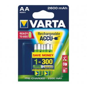 Batareya VARTA Rechargeable Accu 5716 AA 2600 HR B2