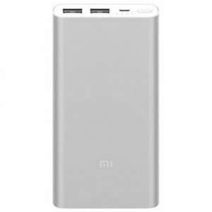 Power Bank Xiaomi 10000mAh 2USB Silver