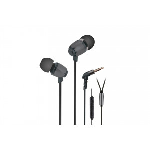 Qulaqlıq 2E S6 Pinion with volume control switch&mic Grey