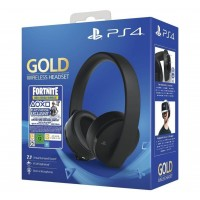 Qulaqlıq PS4 Headset (Gold edition) + Fortnite voucher