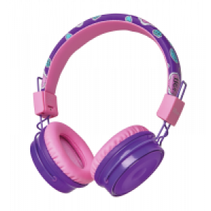 Qulaqlıq Trust Comi BT Kids Headphones Purple (23608)