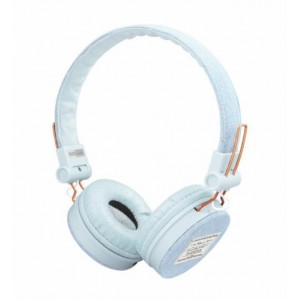 Qulaqlıq Trust Fyber Headphones Light Denim (23610)