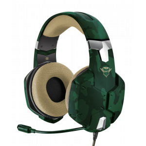 Qulaqlıq Trust GXT322C Carus Headset Jungle (20865)